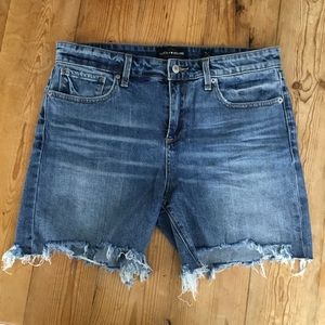 Lucky Brand Distressed Ava Jean Cut Off Shorts